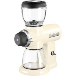KitchenAid mlynček na kávu Artisan 5KCG0702 - mandľovo biely 5KCG0702EAC