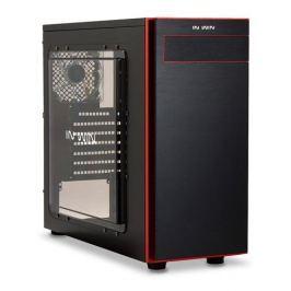 Skrinka Midi ATX In Win 703 Black/Red
