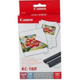 Kazeta + papier CANON KC-18IF SELPHY CP 100/200/220/300/330/400/500/510/520/600/710/720/730/740/750 7741A001