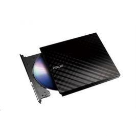 ASUS DVD SDRW-08D2S-U LITE/BLACK, External Slim DVD-RW, black, USB 90-DQ0435-UA221KZ