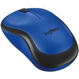 Myš Logitech M220 Silent, modrá 910-004879