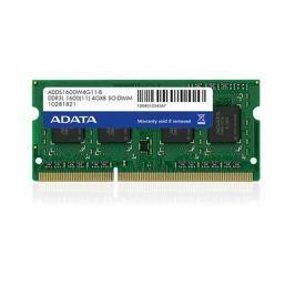 SO-DIMM 4GB DDR3L-1600MHz ADATA CL11 1,35V ADDS1600W4G11-R