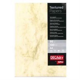 Štrukturovaný papier Mramor hnedá 95g 100 hárkov AG001651