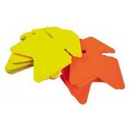 Popisovateľný farebný kartón šípka 12x16cm APLI mix žltá-oranžová AG021950