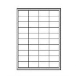Etikety univerzálne odnímateľné 48,5x25,4mm Agipa A4 100 hárkov AG128991