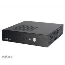 Skrinka AKASA Cypher + 120W adaptér (bez loga) AK-ITX04M-12EU