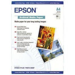 Papier EPSON S041342 Archival matt A4, 50ks C13S041342
