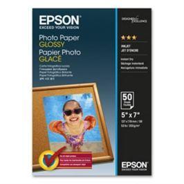 Papier EPSON Photo Paper Glossy (lesklý) 130 x 180 mm, 200g / m2, 50 listov C13S042545
