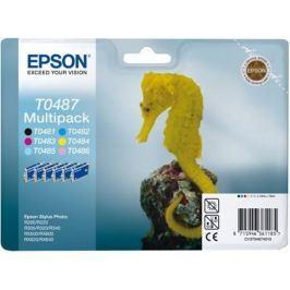 Kazeta EPSON SP R200/R220/R300/R340/RX500/RX640 pack 6f. C13T04874010