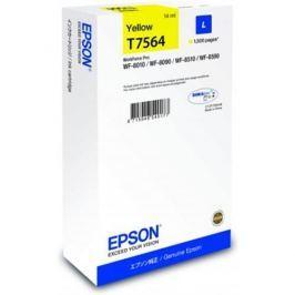Kazeta EPSON WF8000 series yellow L - 14ml C13T756440