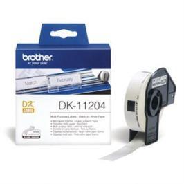 Rolka BROTHER DK11204 Multi Purpose Labels (400 ks)