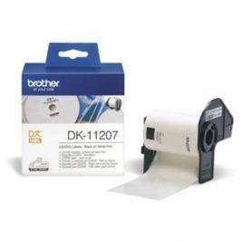 Rolka BROTHER DK11207 CD/DVD Labels (100 ks)