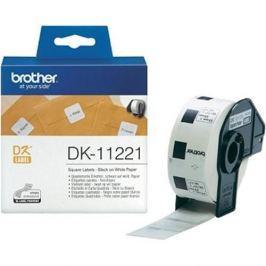 Rolka BROTHER DK11221 Square Labels (1000 ks)