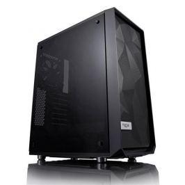 Skrinka Fractal Design Meshify C čierna (okno TG) FD-CA-MESH-C-BKO-TG