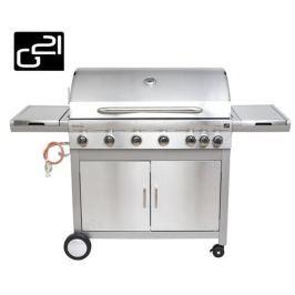 Plynový gril G21 Mexico BBQ Premium line, 7 horákov + redukčný ventil zadarmo GAH-6ED