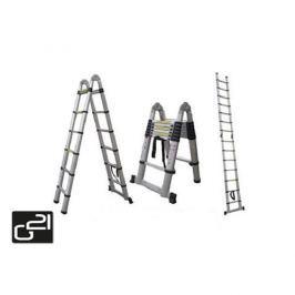 Teleskopický rebrík G21 GA-TZ12-3,8M štafle / rebrík