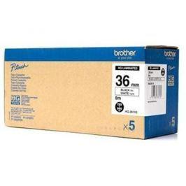 Páska BROTHER HG261 Black On White HQ Tape (36mm) HG261V5