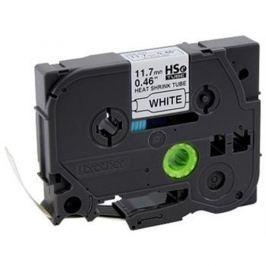 Zmršťovacia bužírka BROTHER HSE231 Black On White Tube (11.7mm)