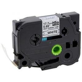 Zmršťovacia bužírka BROTHER HSE251 Black On White Tube (23.6mm)