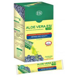 ESI Aloe Vera šťava z čučoriedok 24 ks x 20 ml
