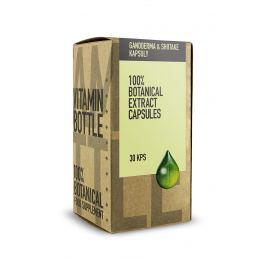 Vitamin Bottle GANODERMA  &  SHIITAKE 30 kaps