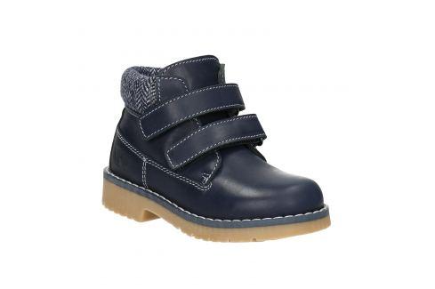 Detská kožená členková obuv