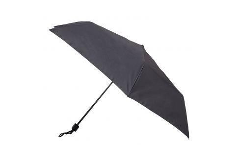 Čierny skladací dáždnik