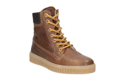 Hnedá detská zimná obuv