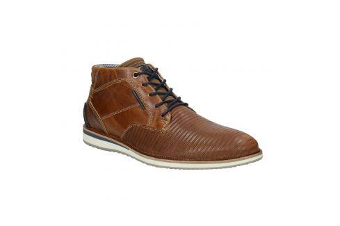 Ležérna členková obuv z kože