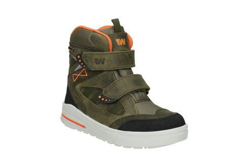 Detská zimná obuv z kože