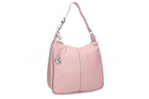 Ružová dámska kabelka v Hobo štýle