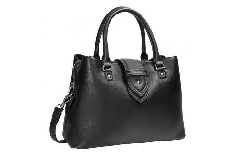 Čierna kabelka s odnímateľným popruhom