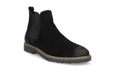 Chelsea Boots z brúsenej kože