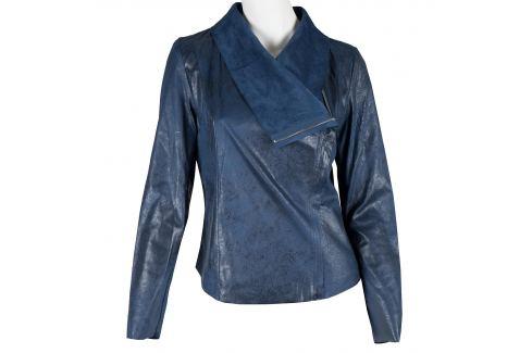 Modrá jarná bunda