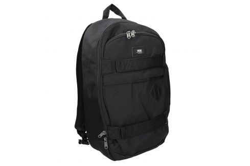 Čierny batoh s prackami