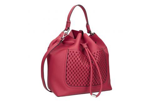 Červená Bucket Bag kabelka