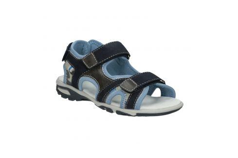 Chlapčenské modré sandále na suchý zips