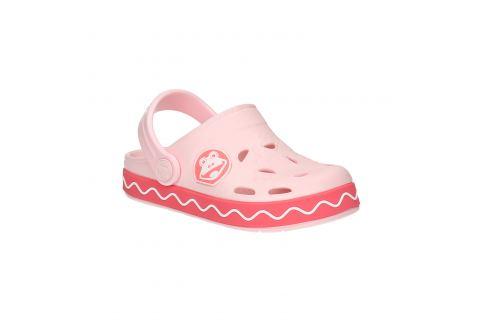Ružové sandále so žabkou