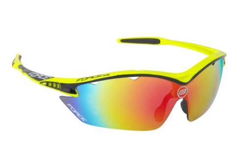 Cyklistické okuliare Force RON fluo 01ac0be2c98