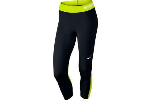 Dámske 3 4 legíny Nike Pro Capri Black - shopovanie.sk 35b07e3128