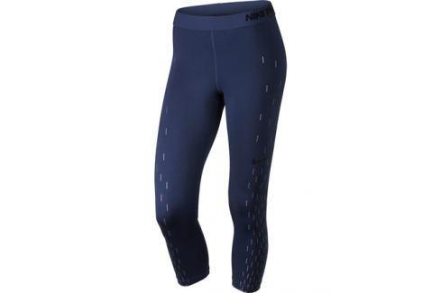 Dámske 3 4 legíny Nike Pro Capri Blue - shopovanie.sk 1523a33fa1