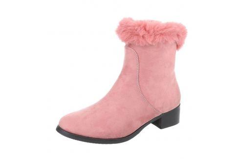 e05cb24ce8d1e Dámske vysoké zimné topánky s kožušinou - shopovanie.sk