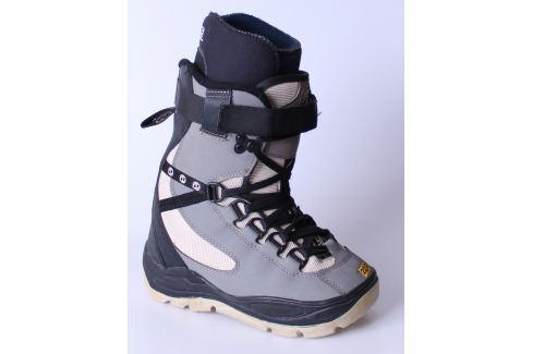 345684c900fd BAZÁR Snowboardové Topánky DEELUXE Sivo-čierna 22.0 - shopovanie.sk