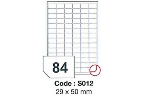 Etikety RAYFILM 29x50 univerzálne biele SRA3 R0100S012A R0100.S012A
