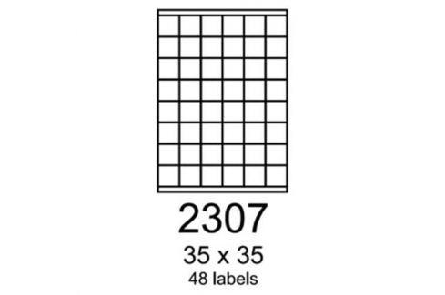 Etikety RAYFILM 48,5x16,9 univerzálne zelené R01202307A R0120.0201A