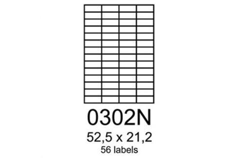 Etikety RAYFILM 52,5x21,2 univerzálne modré R01230302NA R0123.0302NA