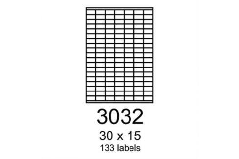 Etikety RAYFILM 30x15 univerzálne modré R01233032A R0123.3032A