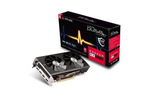 VGA Sapphire PULSE RX570 8GB (256) aktiv 2xH 2xDP OC 11266-66-20G