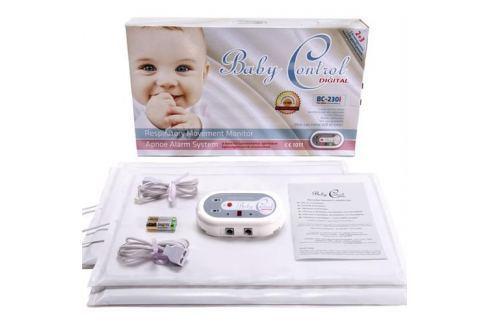 Monitor dychu Baby Control BC - 230i, pre dvojčatá s 2x2 senzorovými podložkami 119978