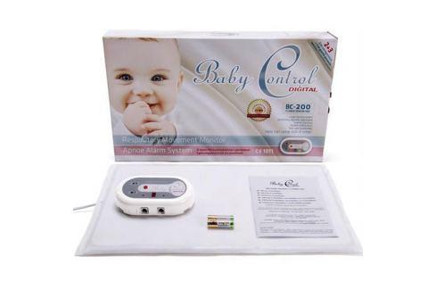 Monitor dychu Baby Control BC-200, s 1x1 senzorovou podložkou 120556